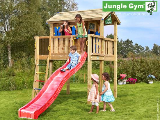 Jungle Gym Crazy Playhouse mit Plattform (XL)
