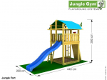 Jungle Gym Fort Turm